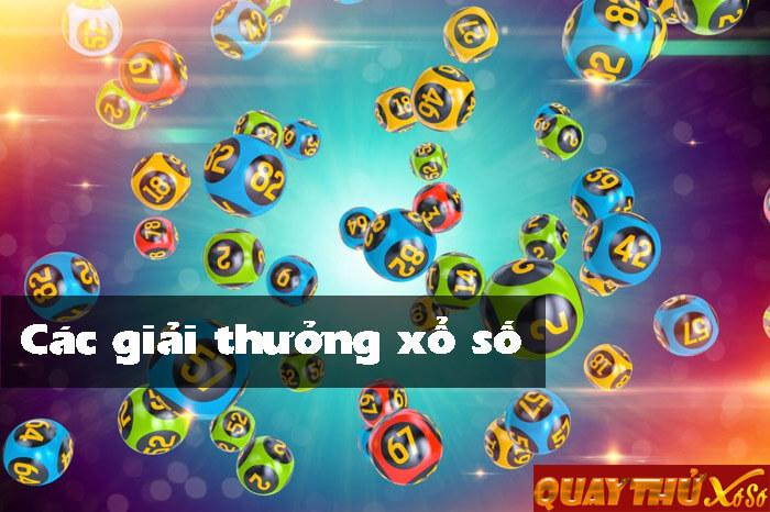Các giải thưởng xổ số kiến thiết Việt Nam
