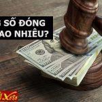 Trúng số đóng thuế bao nhiêu?